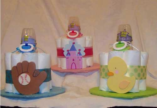 Торт из памперсов для девочки своими руками пошагово маленький фото 98