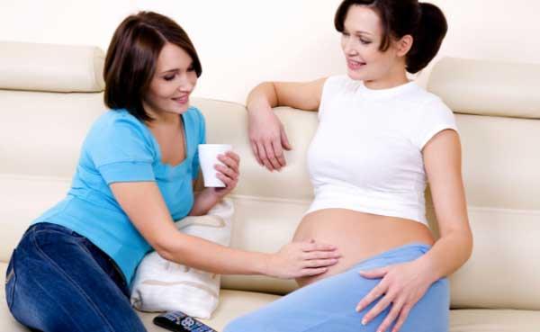 К чему снится беременность подруги Сонник - беременность подруги
