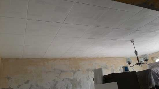 Обрушившийся потолок