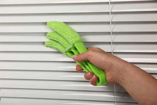 Как помыть жалюзи горизонтальные алюминиевые