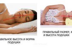 Как правильно спать на ортопедической подушке и обычной?