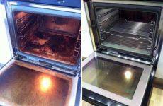 Как эффективно очистить духовку от жира и старого нагара?