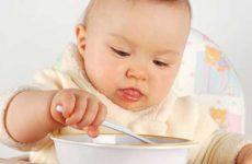 Особенности питания десятимесячного ребенка