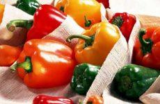 Как хранить перец болгарский в домашних условиях?
