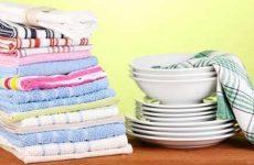 Стирка кухонных полотенец от жира в домашних условиях с растительным маслом?